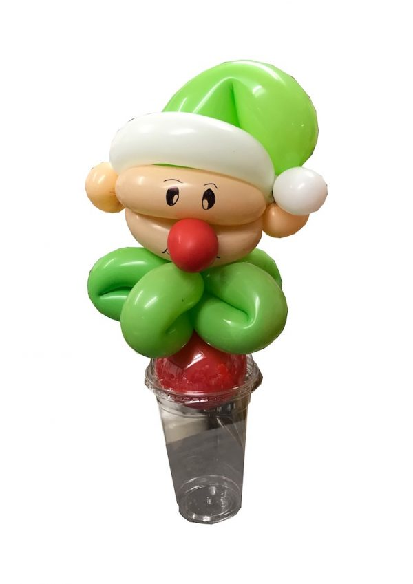 elf Christmas candy cup